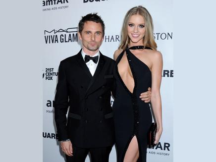 Matthew Bellamy: ultra glamour avec Elle Evans