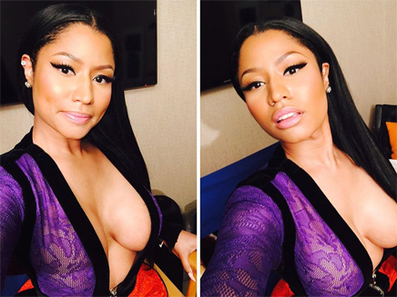 Nicki Minaj : décolletée et ultra sexy sur le plateau du Saturday Night Live!
