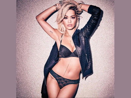 Rita Ora: sexy en lingerie!