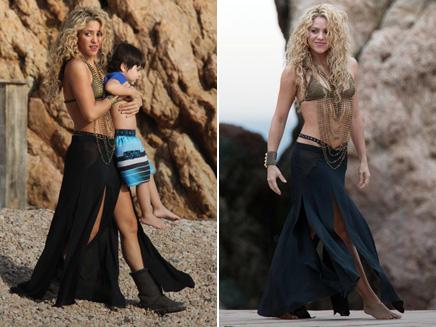 Shakira : retour au top avec son fils sur les plateaux !