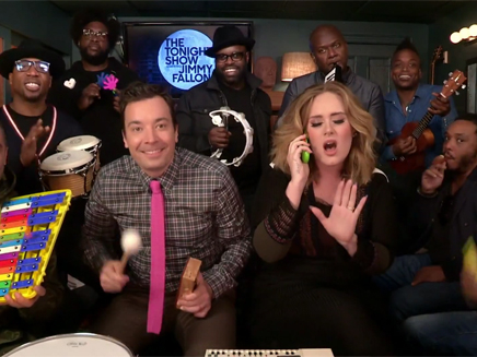 Adele reprend «Hello» avec des instruments pour enfants!