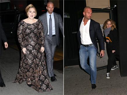 Adele : son garde du corps hyper sexy fait le buzz!