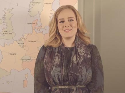 Adele annonce deux dates de concert en France!