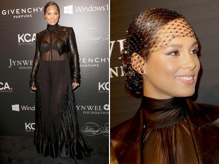 Alicia Keys: élégante et sexy pour une levée de fonds à New York