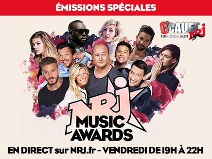 NRJ Music Awards 2015 : Cauet reçoit toutes les stars en direct de Cannes!