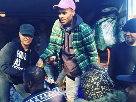 Chris Brown : il offre deux mille dindes pour Thanksgiving!