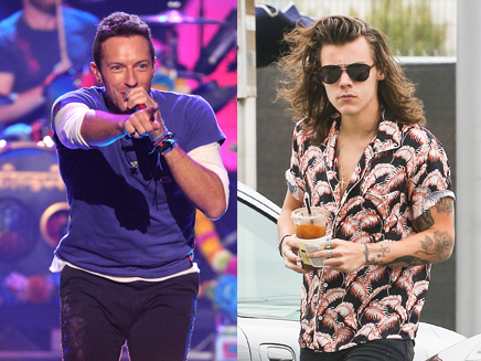 Chris Martin : il craque pour Harry Styles!