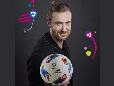 David Guetta: il présente le ballon de l'Euro 2016!
