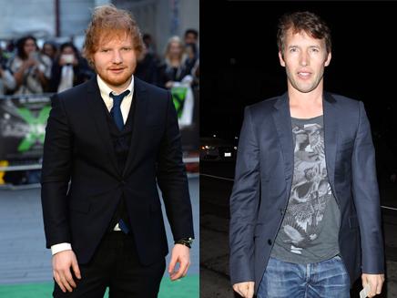 Ed Sheeran annonce ses fiançailles avec James Blunt!
