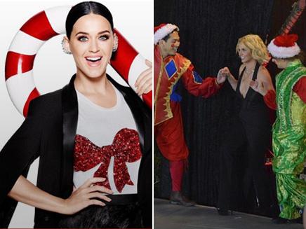 Katy Perry et Britney Spears: elles jouent les mères Noël!