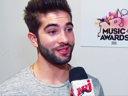 NRJ Music Awards 2015: Kendji Girac a la pression!
