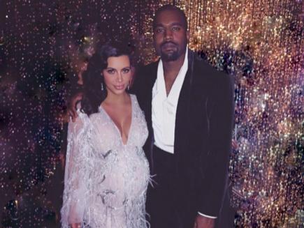Kanye West fête Thanksgiving avec tout le clan Kardashian!
