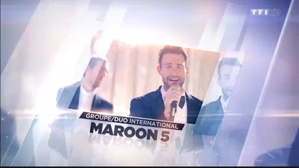 Maroon 5 - Groupe International de l'année - Palmarès NRJ Music Awards 2015