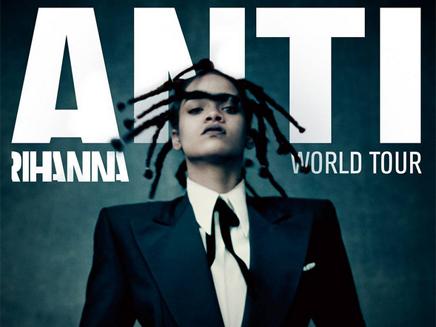 Rihanna annonce sa tournée mondiale et quatre concerts en France!
