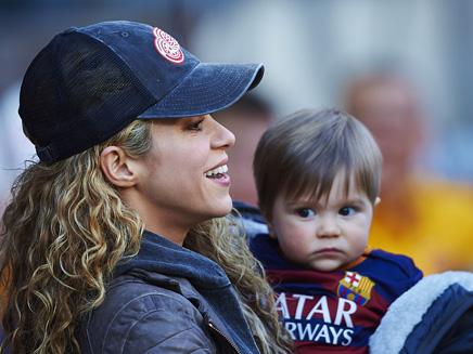 Shakira: supportrice de choix avec Milan et Sasha