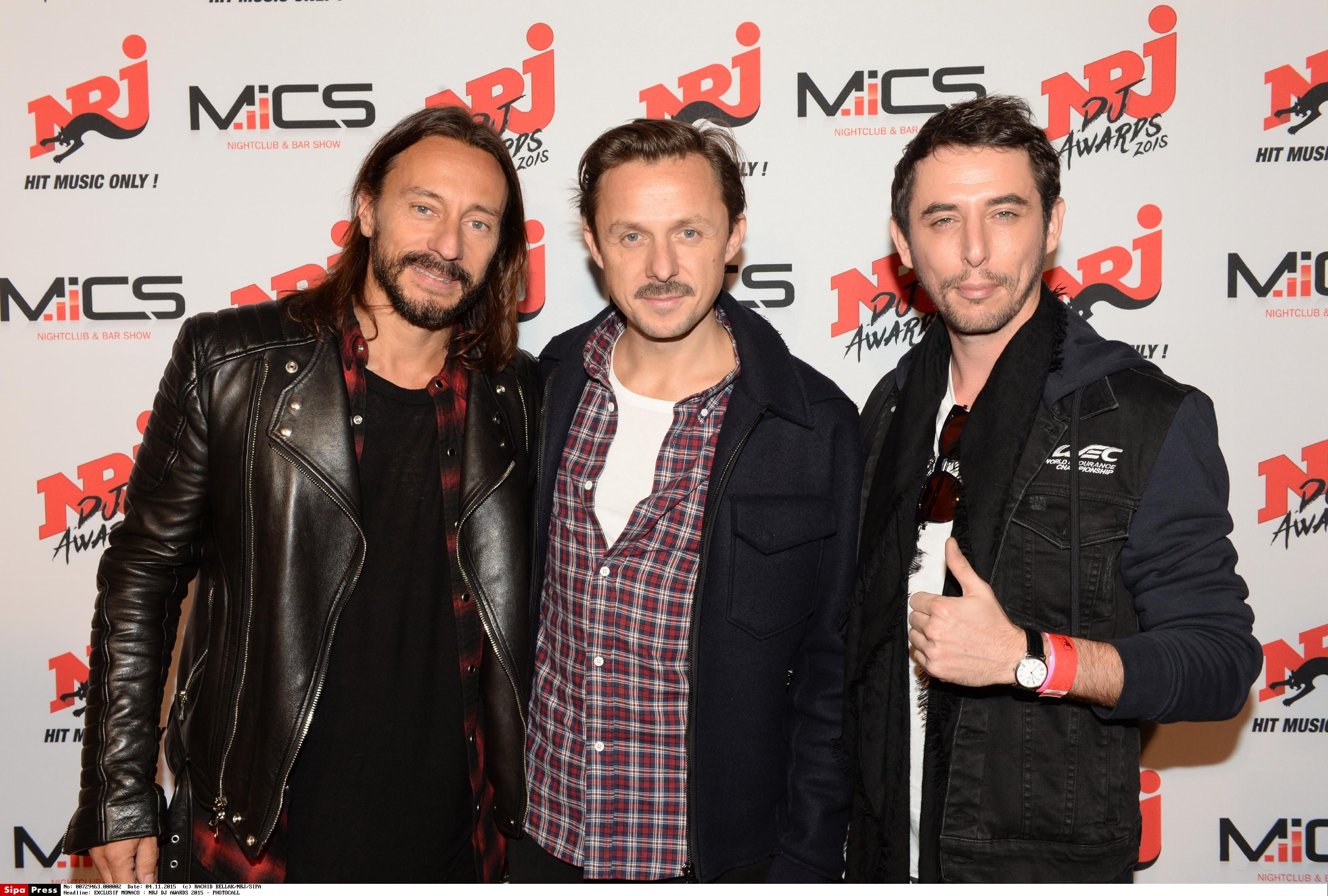 NRJ DJ Awards 2015 - Le Photocall