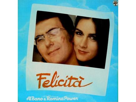 100 vinyle felicita al bano et romina power for Al bano felicita