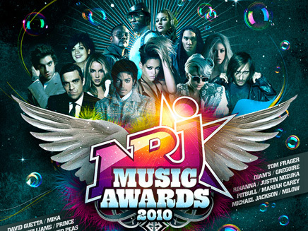 NRJ Music Awards 2010 : la compil' N°1 sur Itunes !
