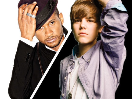 Justin Bieber Usher on Photos Justin Bieber   Usher   Photographies  Diaporama   Nrj Music