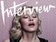 Madonna : topless en couverture du magazine Interview!
