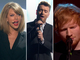 Taylor Swift, Ed Sheeran, Sam Smith : les lives des Brit Awards!