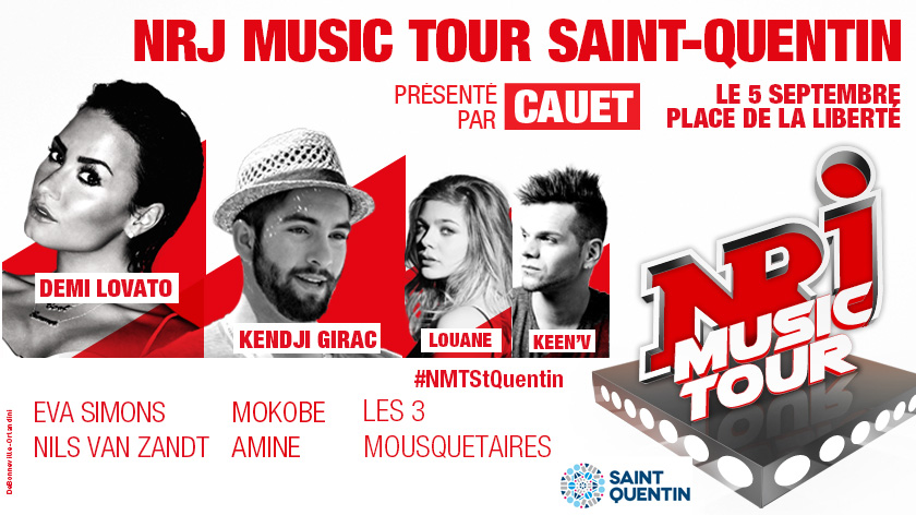 NRJ MUSIC TOUR SAINT-QUENTIN
